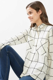 Esprit Plaid Woven Top - Side cropped