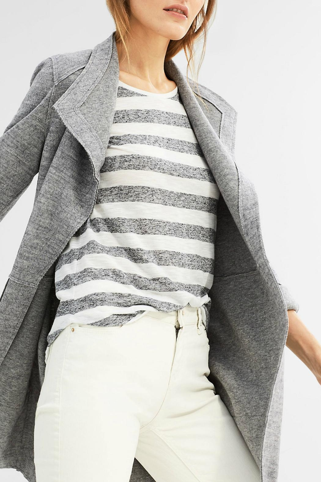 Esprit Striped Tee - Back Cropped Image