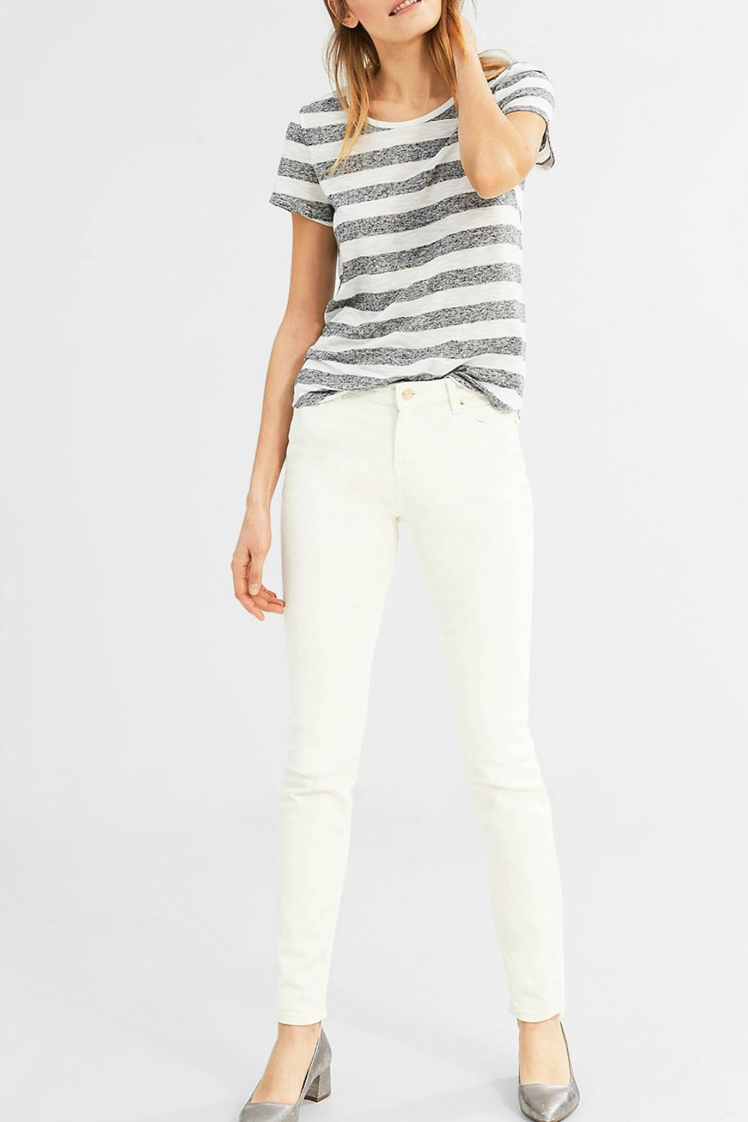 Esprit Striped Tee - Side Cropped Image