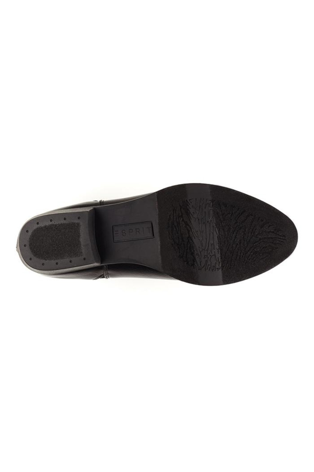 Esprit Vegan Black Booties - Back Cropped Image