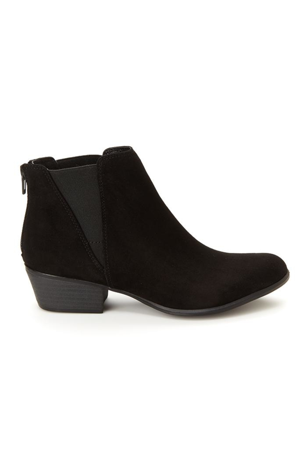 Esprit Vegan Black Booties - Side Cropped Image