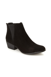 Esprit Vegan Black Booties - Front cropped