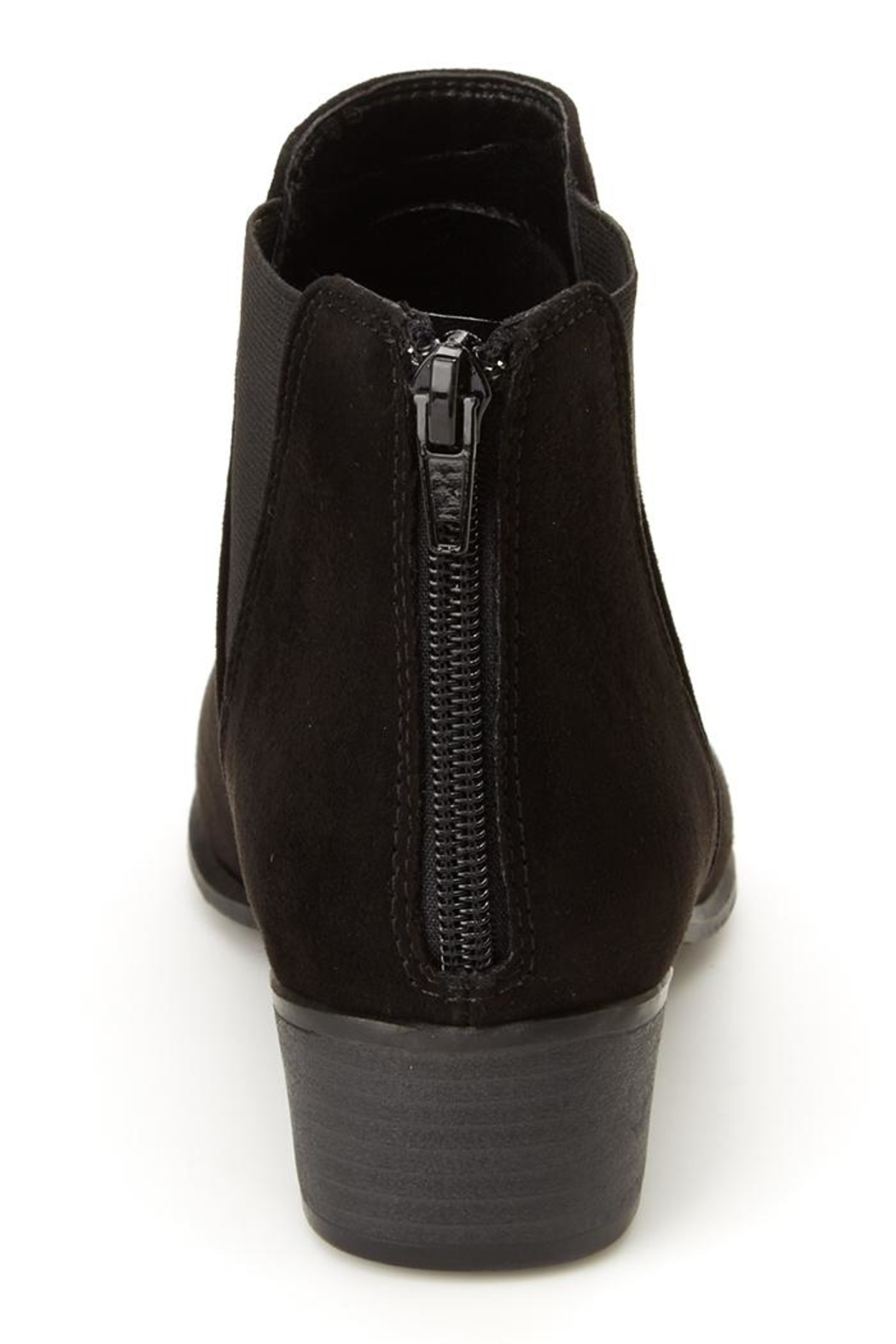 Esprit Vegan Black Booties - Front Full Image