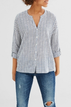 Shoptiques Product: Vertical Stripe Blouse Top