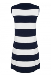 EsQualo Knit Stripe Dress - Front full body