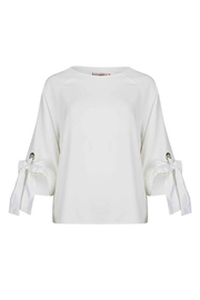 EsQualo Tie Sleeve Blouse - Side cropped