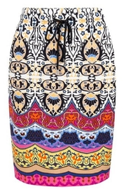 EsQualo Tropical Mini Skirt - Product Mini Image