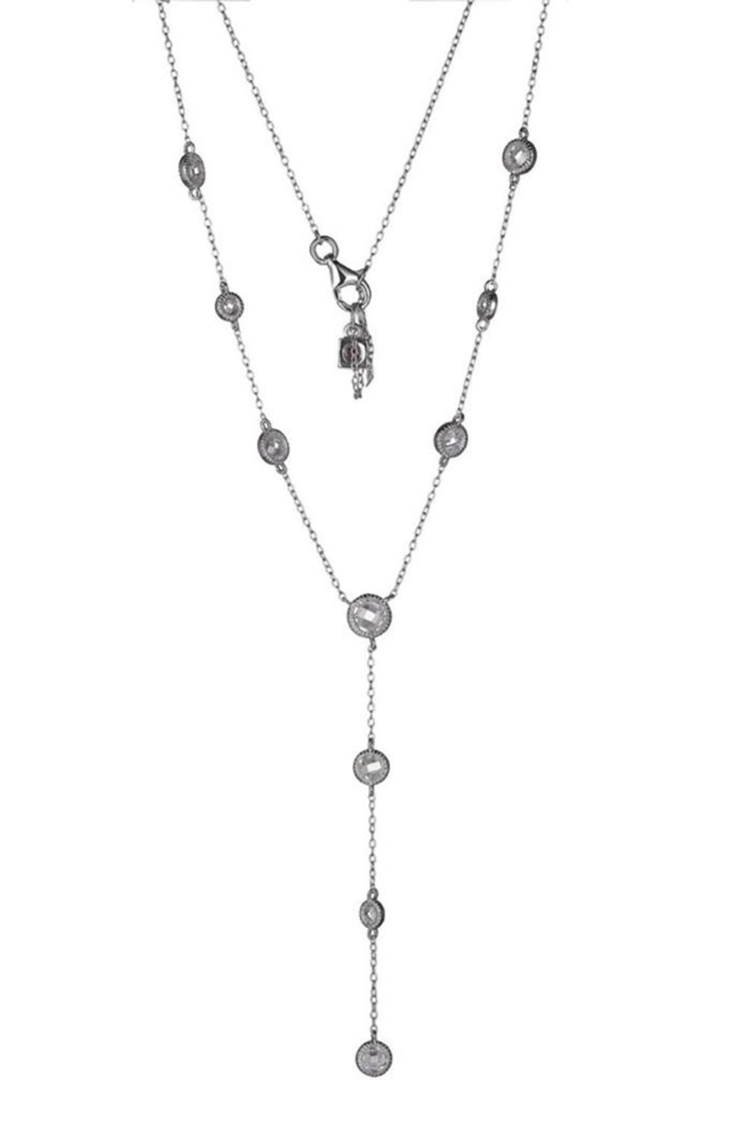ELLE Jewelry Essence Multi-Stone Lariat - Front Cropped Image