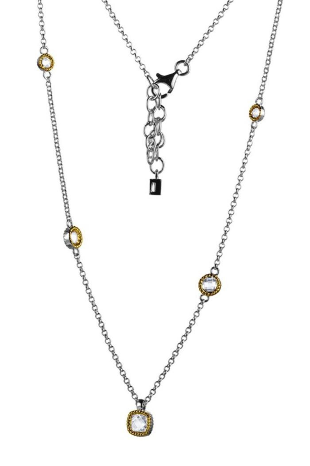 ELLE Jewelry Essence Multi-Stone Necklace - Front Cropped Image