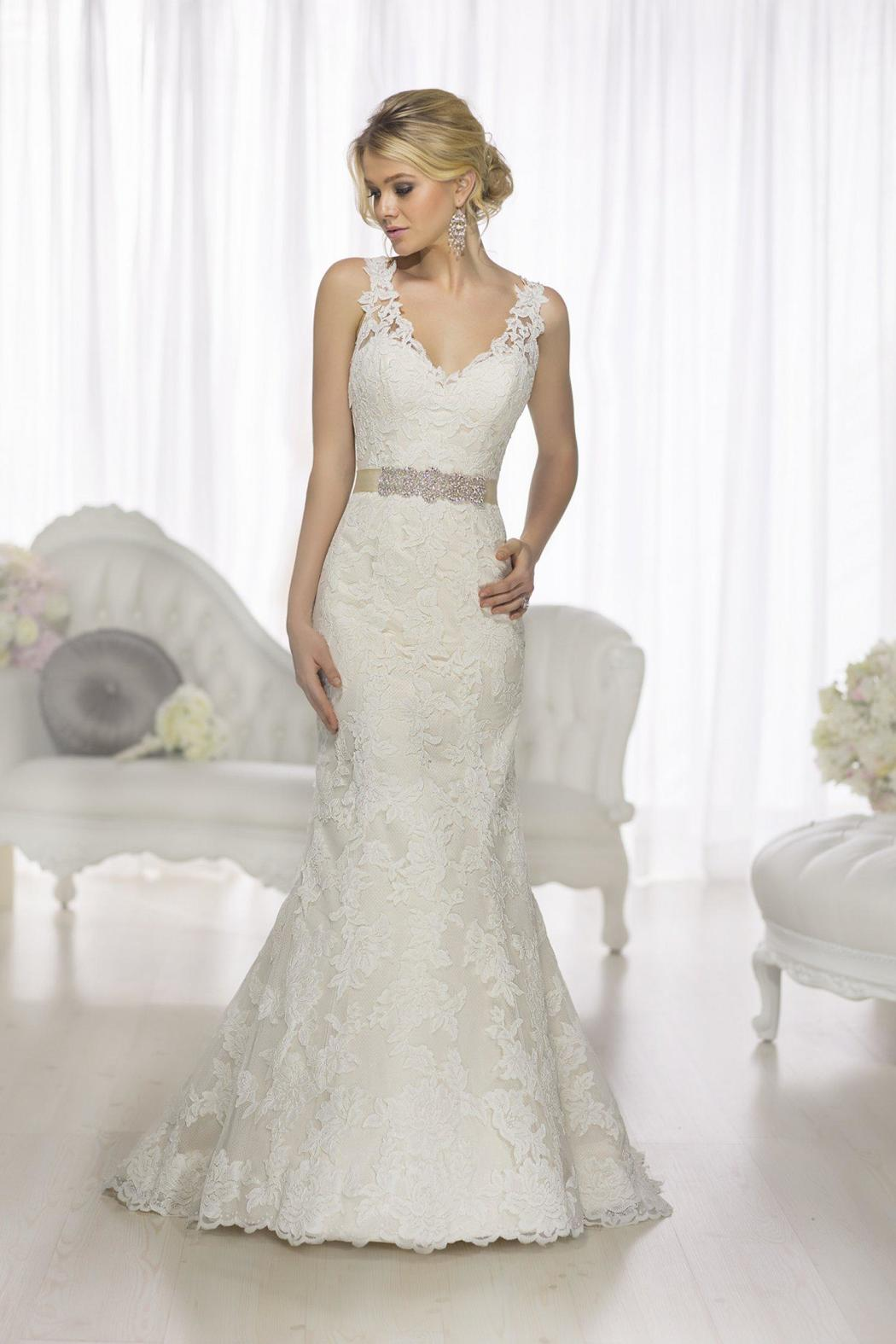 Essense of Australia Fit & Flare Gown from Texas by Beatitude Bridal ...