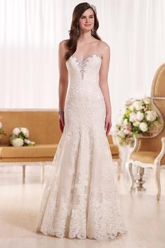Essense of Australia Strapless Beaded Gown - Product List Image