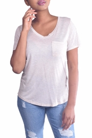 Color Thread Essential Boyfriend Tee - Front cropped