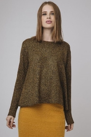 Compania Fantastica Essential Brown Sweater - Product Mini Image