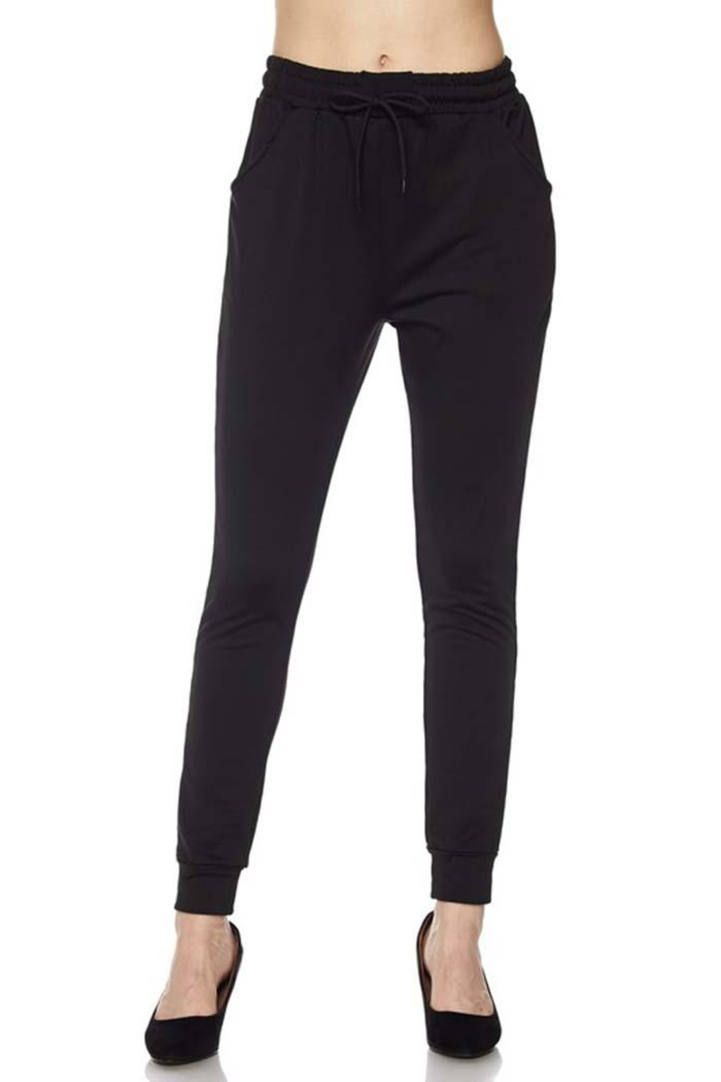 Zenana Outfitters Essential Jogger - Side Cropped Image