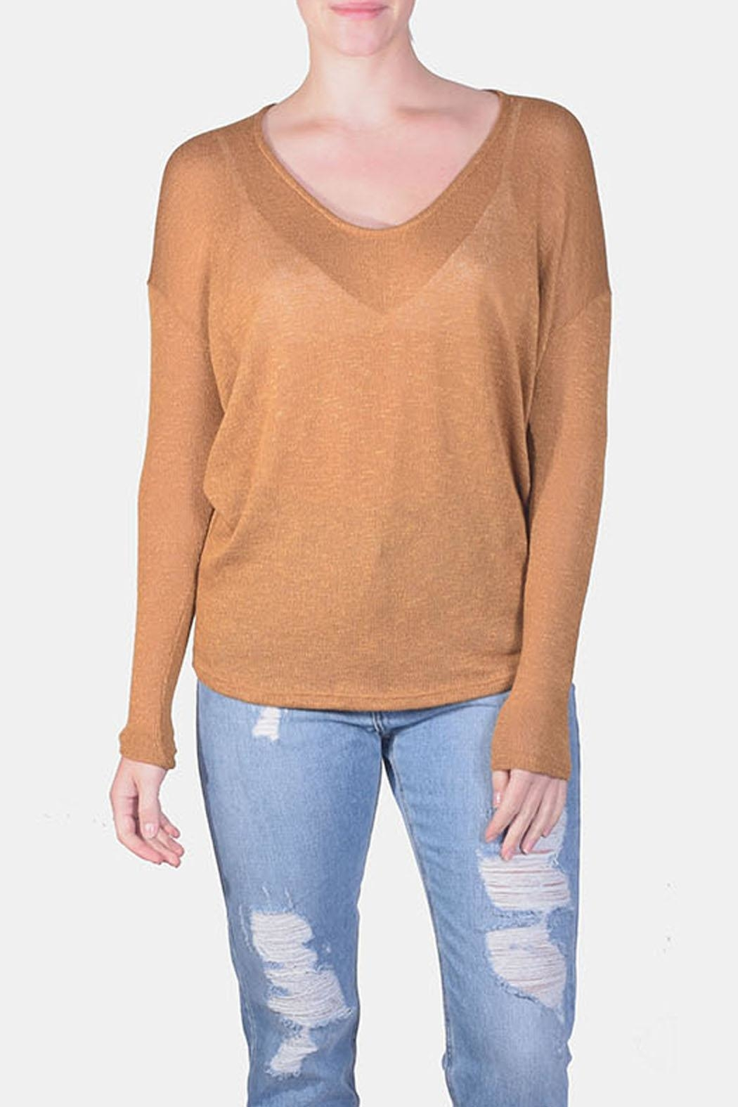 Jolie Essential Lightweight Sweater - Front Cropped Image