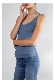Color Thread Essential Ribbed Cami - Front full body