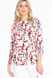 Multiples Essential Summer Top - Front cropped