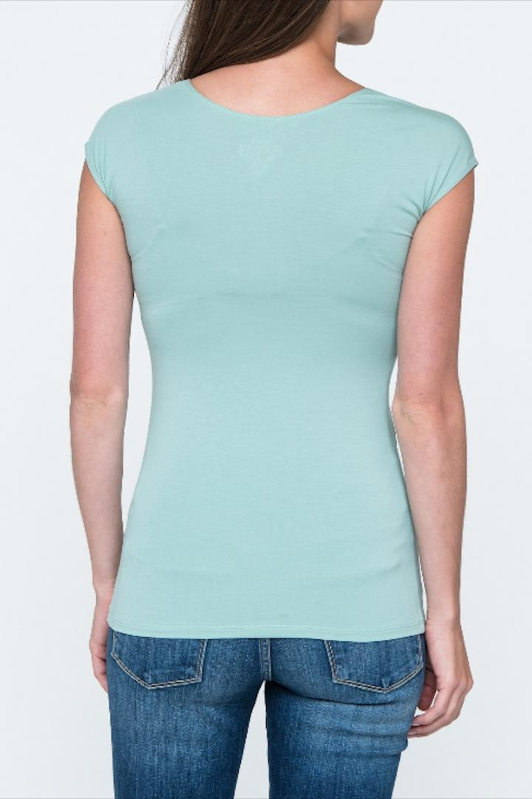 Downeast Basics Essential Tee - Side Cropped Image