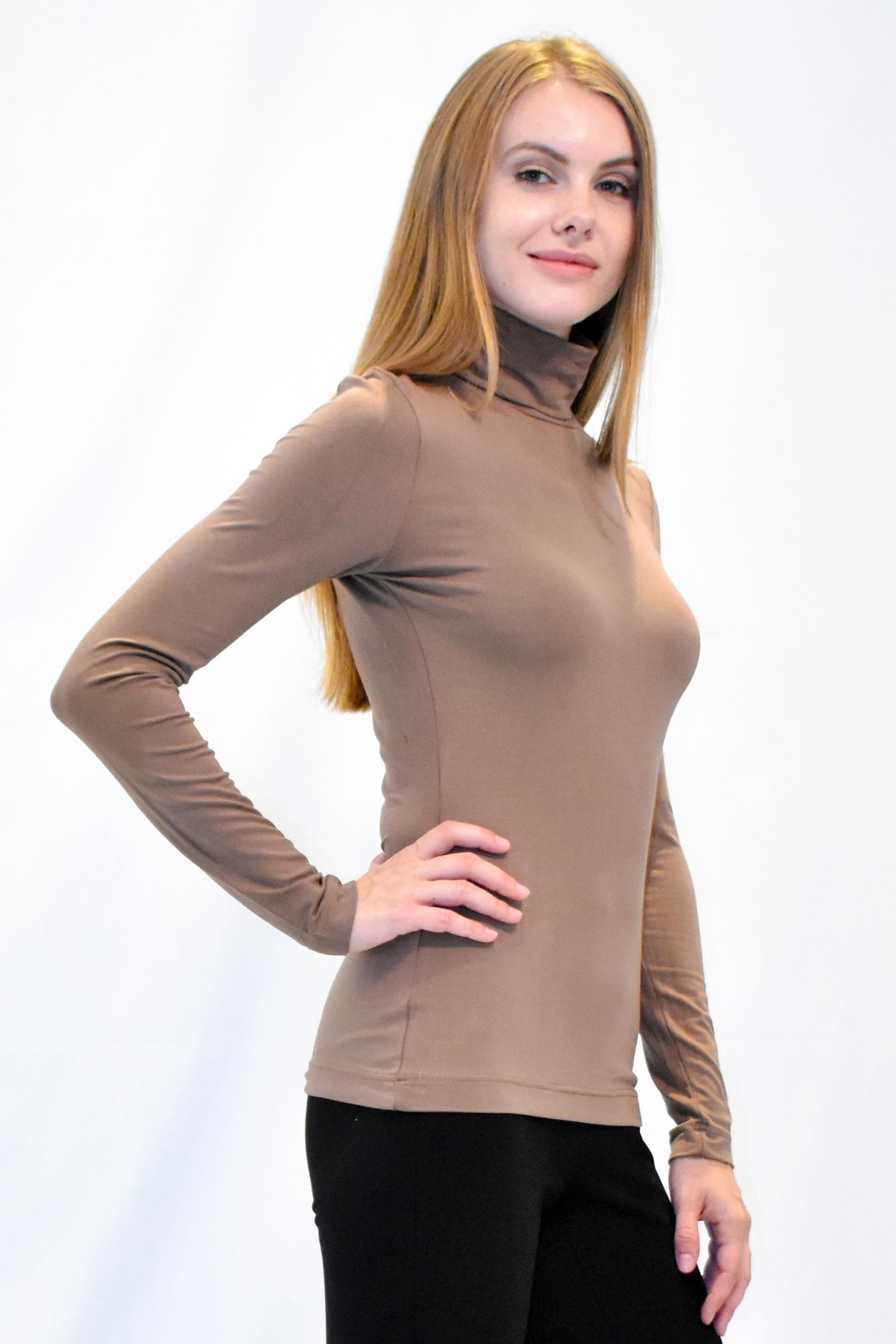 Eva & Claudi Essential Turtleneck - Front Full Image