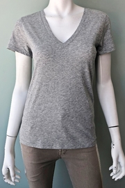 Vince Essential V-Neck Tee - Front full body