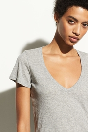 Vince Essential V-Neck Tee - Product Mini Image