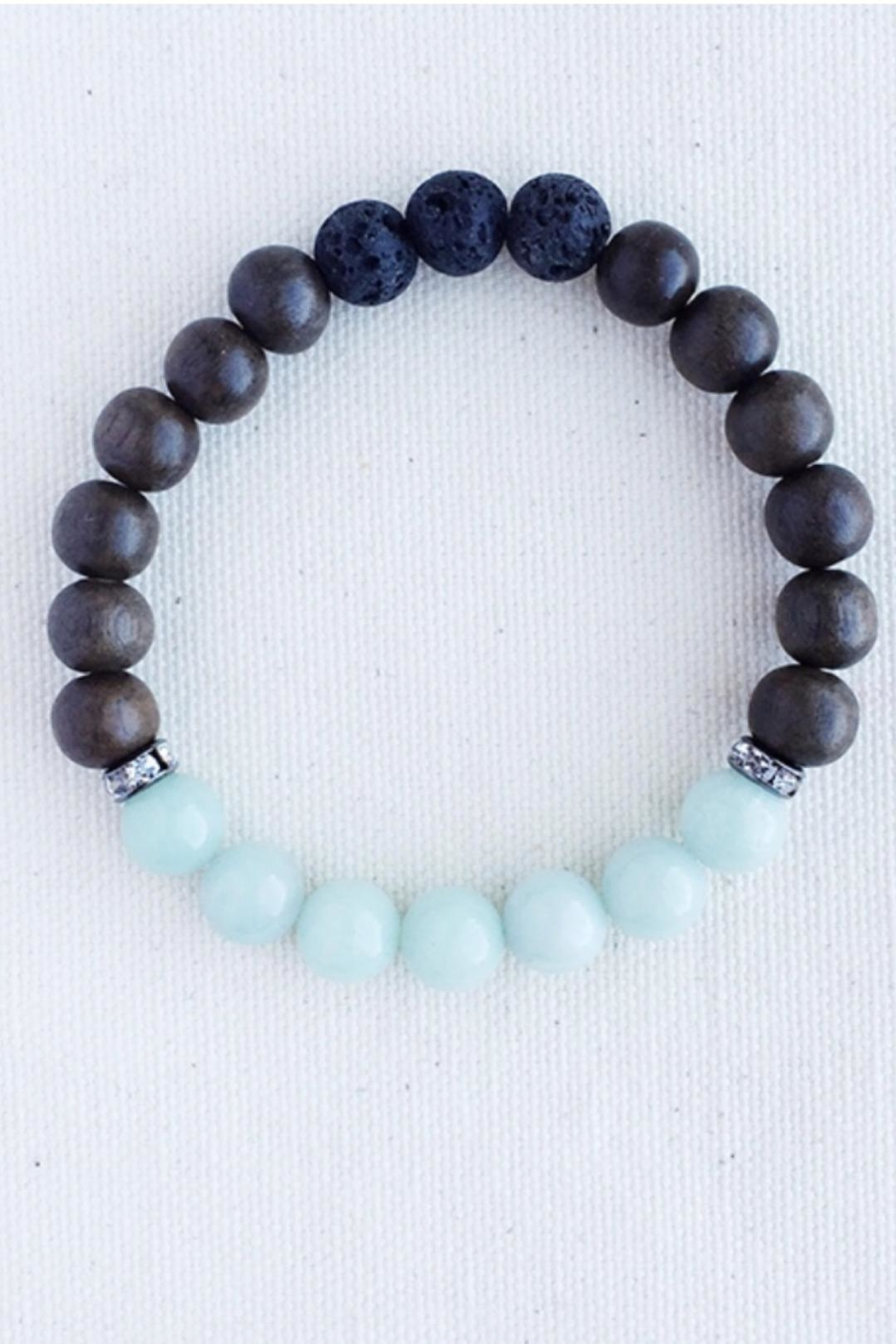 Essential Adornment Calming Amazonite Bracelet - Front Cropped Image
