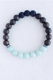 Essential Adornment Calming Amazonite Bracelet - Front cropped