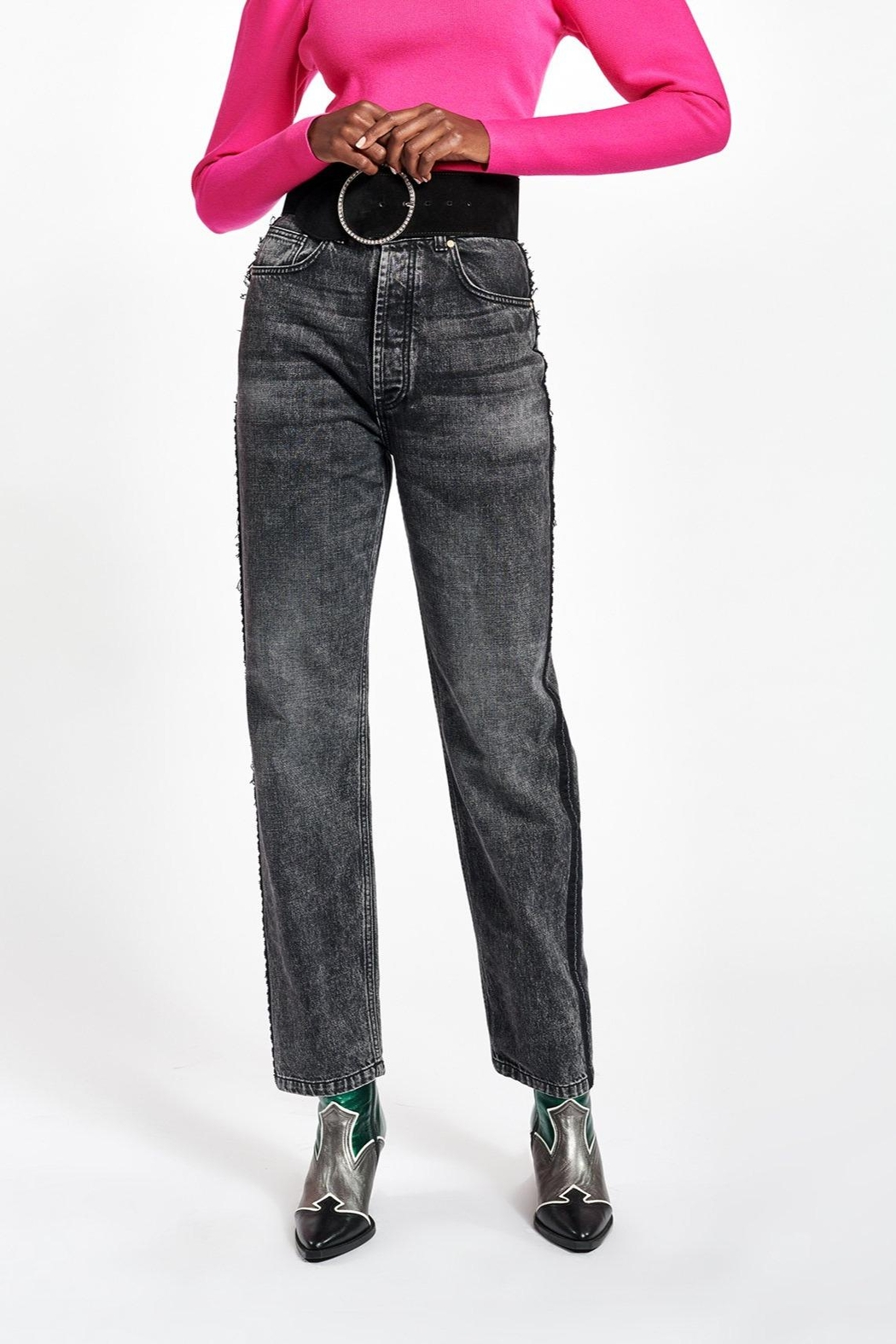 Essentiel Antwerp Wookie Jean Straight Leg Graphite - Main Image