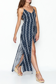 essue Blue Maxi Romper - Product Mini Image