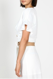 essue Button Wrap Blouse - Side cropped