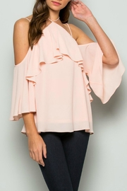 essue Cold Shoulder Top - Product Mini Image