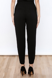 essue Crepe Joggers - Back cropped