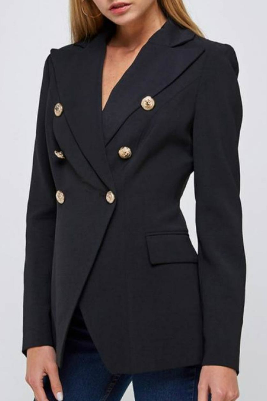 essue Double-Breasted Blazer - Main Image