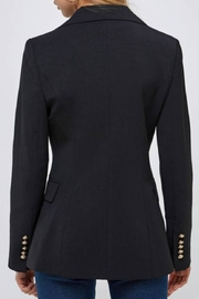 essue Double-Breasted Blazer - Back cropped