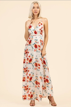 essue Floral Backless Dress - Product List Image
