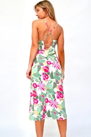 essue Floral Paradise Midi - Side cropped
