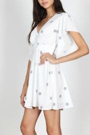 essue Floral Print Dress - Front full body