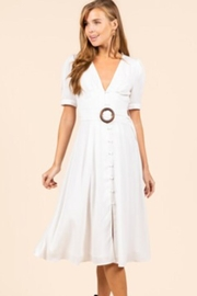 essue Midi O-Ring Dress - Product Mini Image