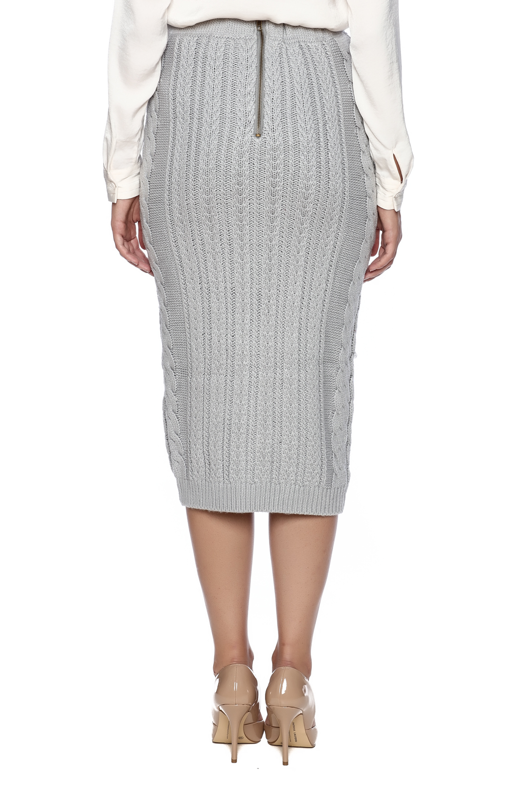 c44292dd4e53 essue Midi Sweater Skirt from Miami by Leah & Pearl — Shoptiques