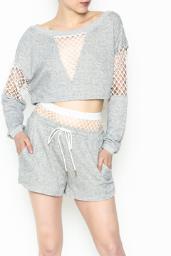 Shoptiques Product: Netted Soft Shorts