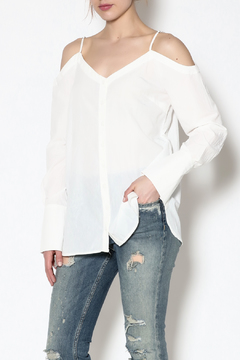 essue White Button-Down Top - Product List Image
