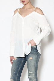 essue White Button-Down Top - Product Mini Image