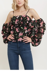 essue Offshoulder Flower Top - Product Mini Image