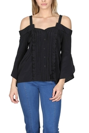essue Offshoulder Ruffle Fronttop - Product Mini Image