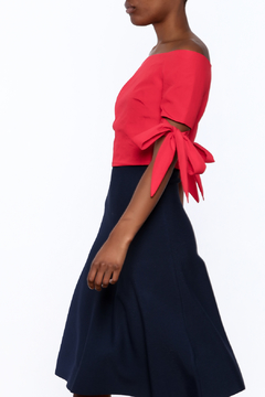 essue Red Cropped Top - Product List Image