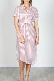essue Roma Shirt Dress - Product Mini Image