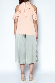essue Ruffle And Tie Tank - Other