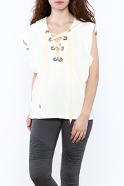 essue Sleeveless Sweater Top - Product Mini Image
