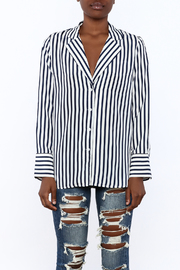 essue Stripe Button-Down Top - Side cropped