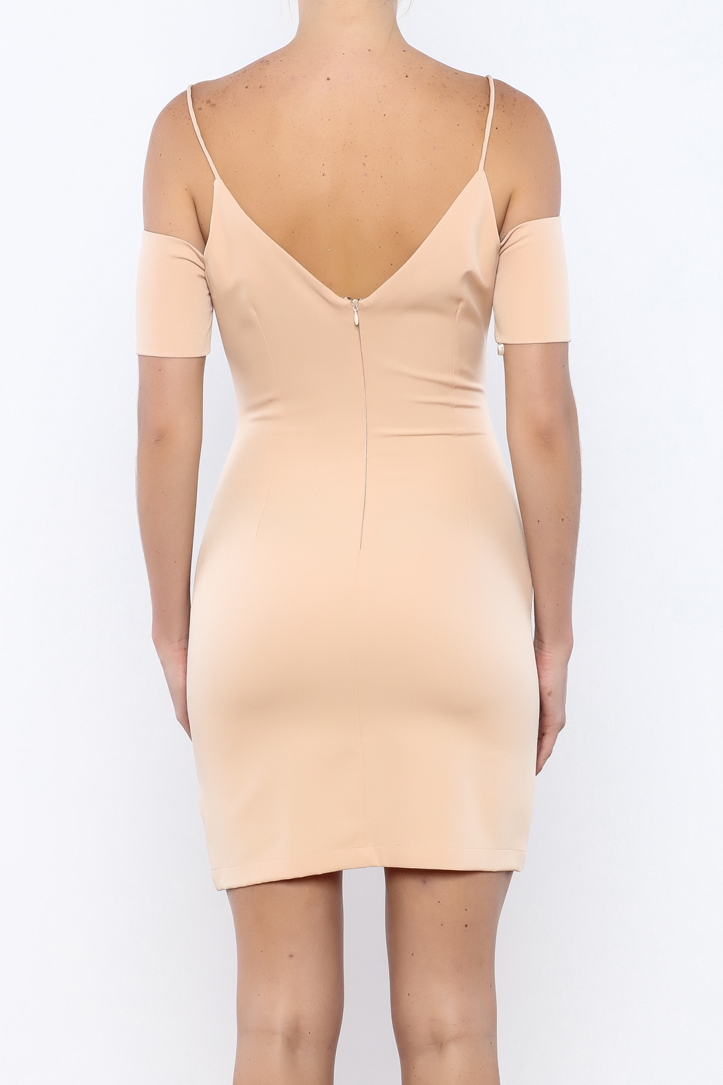 essue The Sleeve Dress - Back Cropped Image